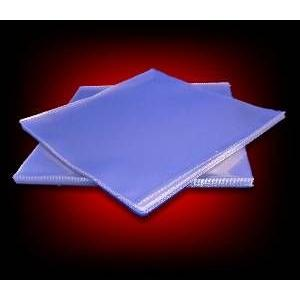 12in pvc thick vinyl record sleeves: pack of 40