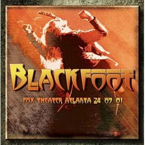 blackfoot: 24th july 1981 fox theater atlanta 1981