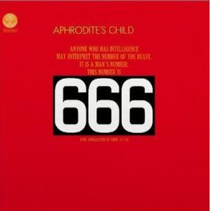 aphrodite's child: 666 (red vinyl)