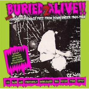 various: buried alive! 2 more demented teenage fuzz from 1964-1968