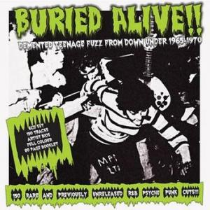 various: buried alive!!demented teenage fuzz from down under 1965-1970
