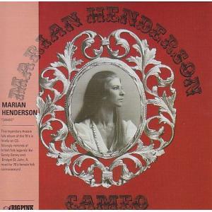 Marian Henderson Cameo