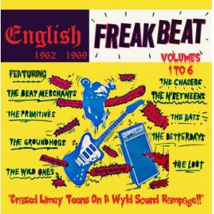 various: english freakbeat 1962-1969 volumes 1-6