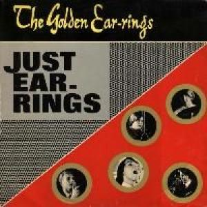 golden earrings: just ear-rings
