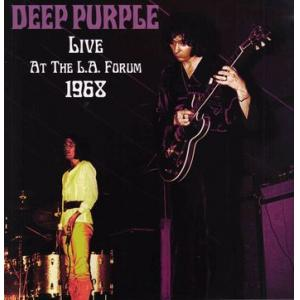 Deep Purple Live At The L A Forum 1968 Lp Lpcdreissues