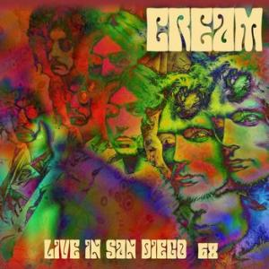 cream: live in san diego 68 (red and purple)