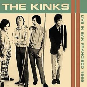 the kinks: live in san francisco 1969