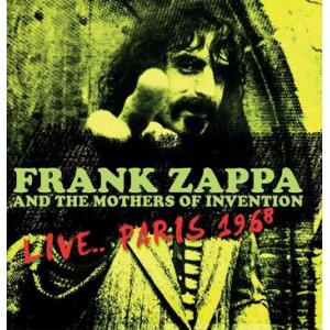 frank zappa and the mothers of invention: live... paris 1968