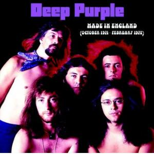deep purple: made in england (october 1971 - february 1972)