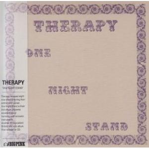 therapy: one night stand