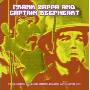 Frank Zappa Amp Captain Beefheart Providence Co
