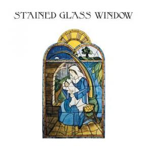 stained glass window: stained glass window