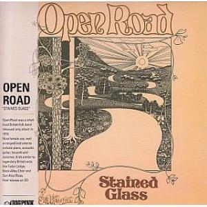 open road: stained glass