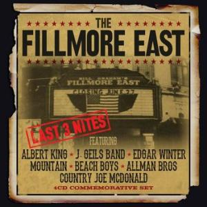 various (albert king / j. geils band / edgar winter / mountain / beach boys / allman bros / country : the fillmore east last 3 nites