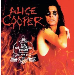 alice cooper: the los angeles forum, 17th june 1975